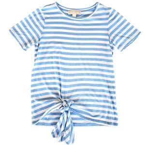 Michael Michael Kors Striped baby blue/white Sz S